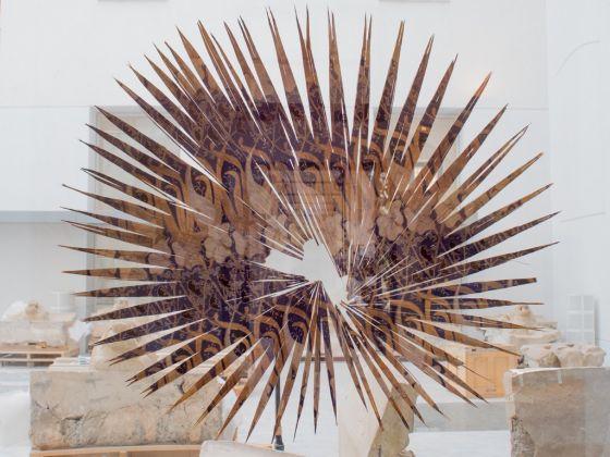 Luca Trevisani, Notes for dried and living bodies, 2016. Veduta dell'installazione al Museo Salinas di Palermo. Courtesy l'artista e Mehdi Chouakri Gallery, Berlino. Photo Costanza Arena e Roberto Salvaggio