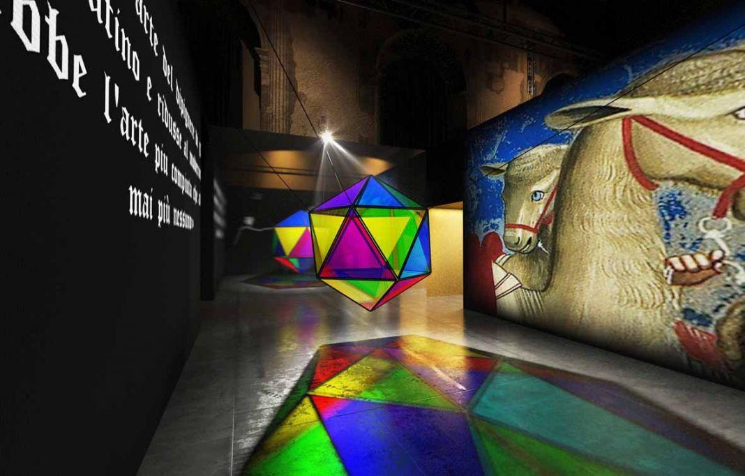 Magister Giotto. Exhibition view at Scuola Grande della Misericordia, Venezia 2017