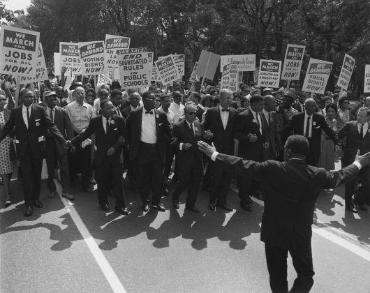 Marcia su Washington per i diritti civili (28 agosto 1963). Documento storico non presente in mostra