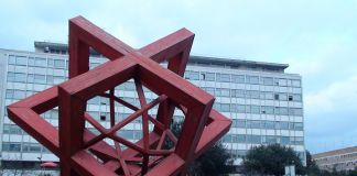 Mario Ceroli, Goal, 1990. Ph. by nicerome