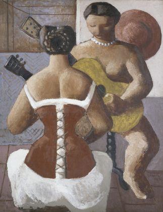 Massimo Campigli, Donne con la chitarra, 1925, Pinacoteca di Brera, Milano