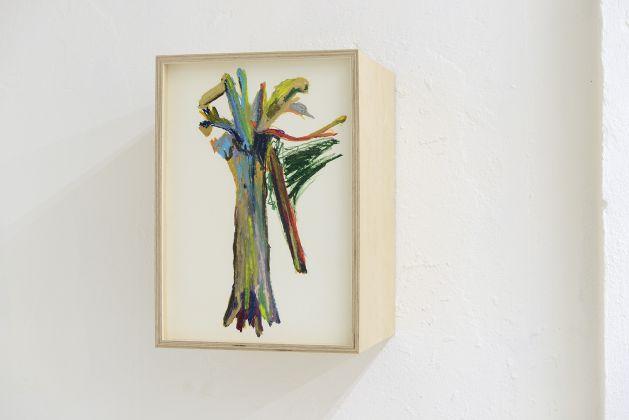 Matteo Fato, Senza titolo, (studio). 2015-2017, pastello a olio su carta, 35 x 50 x 35 cm, photo Michele Alberto Sereni