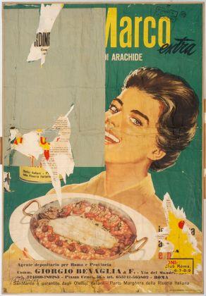 Mimmo Rotella, Arachidina, 1963. Copyright Mimmo Rotella