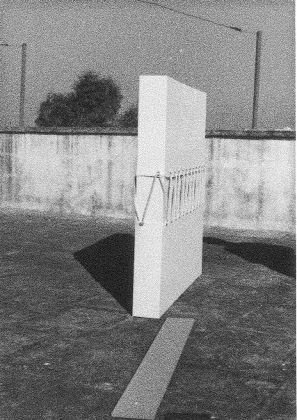 Natalino Tondo, Spazio di progettazione, 1969 71, tecnica mista