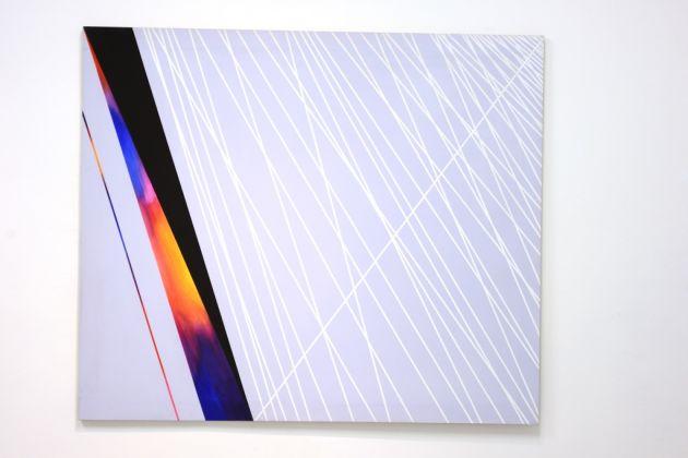Natalino Tondo, Spazio n dimensionale, 1989, acrilici su tela