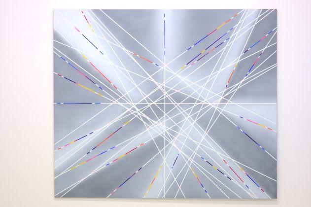 Natalino Tondo, Spazio n dimensionale XIV, 1988, acrilici su tela