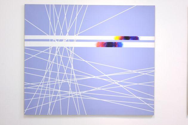 Natalino Tondo, Spazio n dimensionale XVIII, 1988, acrilici su tela