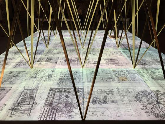 Niall McLaughlin Architects, Alzheimer's Respite Centre, Dublin0 2009. L'installazione Losing Myself © Riccardo Tosetto
