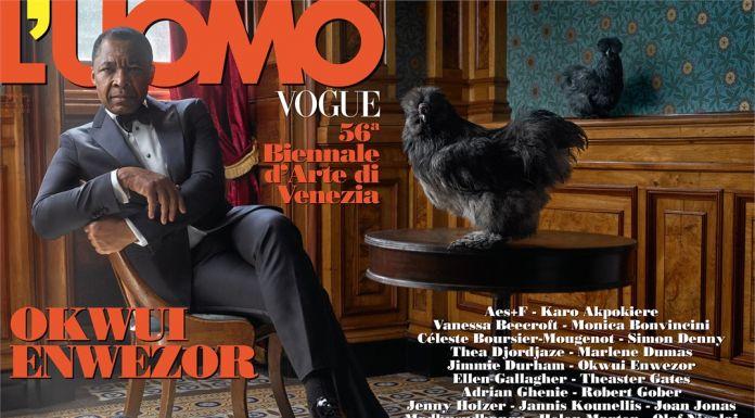 Okwui Enwezor su L'Uomo Vogue