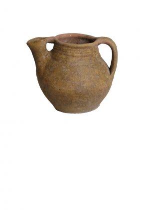 Oliera in maiolica, XVI sec. (dalla bottega di un vasaio rinascimentale presso il Convento di San Urbano ai Pantani)