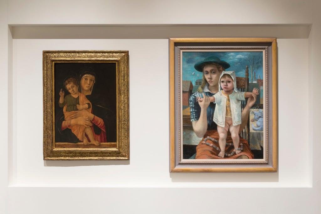Philip Guston and The Poets. Exhibition view at Gallerie dell'Accademia, Venezia 2017. Photo © Lorenzo Palmieri