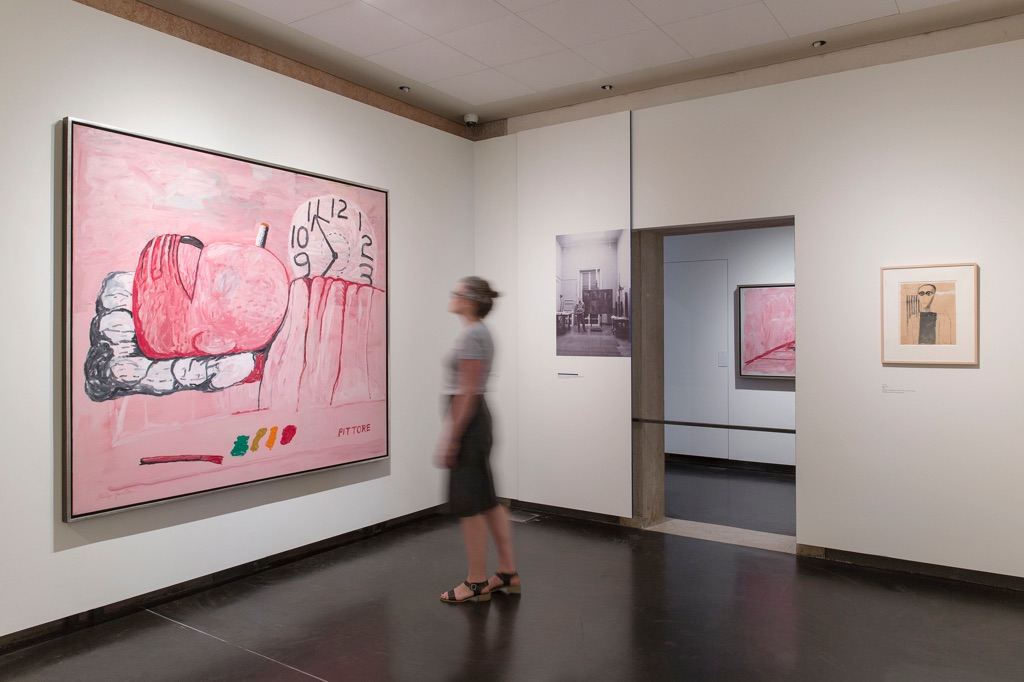 Philip Guston and The Poets. Exhibition view at Gallerie dell'Accademia, Venezia 2017. Photo © Lorenzo Palmieri