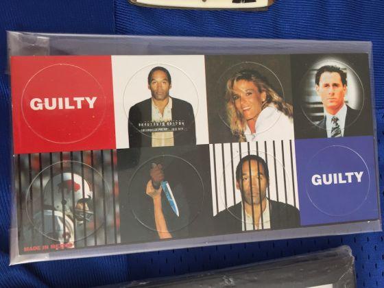 Una foto d'epoca del processo a OJ Simpson