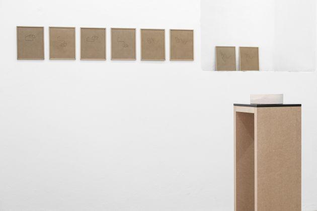 Rafa Munárriz. Sulla curva chiusa. Exhibition view at Galleria Macca, Cagliari 2017