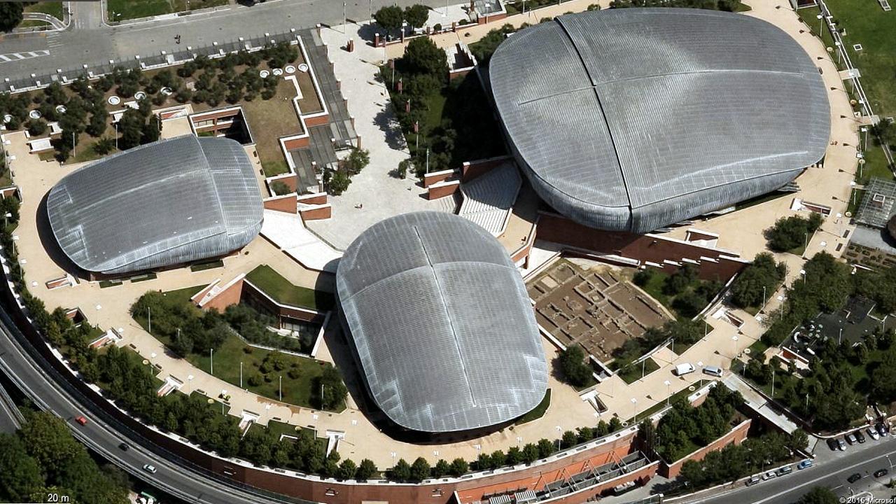 Renzo Piano, Auditorium Parco della Musica, Roma 1994 2000. Consulenza di Franco Zagari