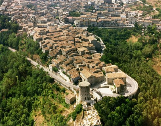 Riccia, vista aerea