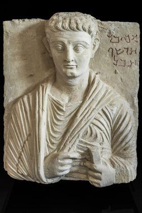 Rilievo funerario con ritratto di Makkai, terzo quarto I secolo d.C., Collezione privata © Gianluca Baronchelli