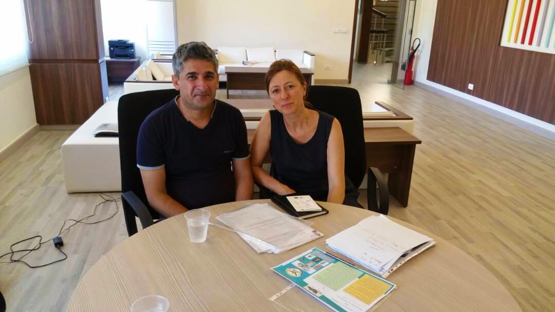Ristem Abdo e Cristina Menegazzi