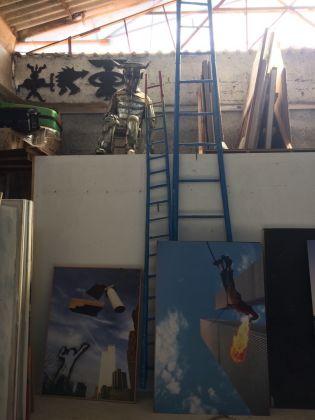 Studio di Paolo Buggiani, 2017. Foto Ilaria Bochicchio. Cortesia dell'artista