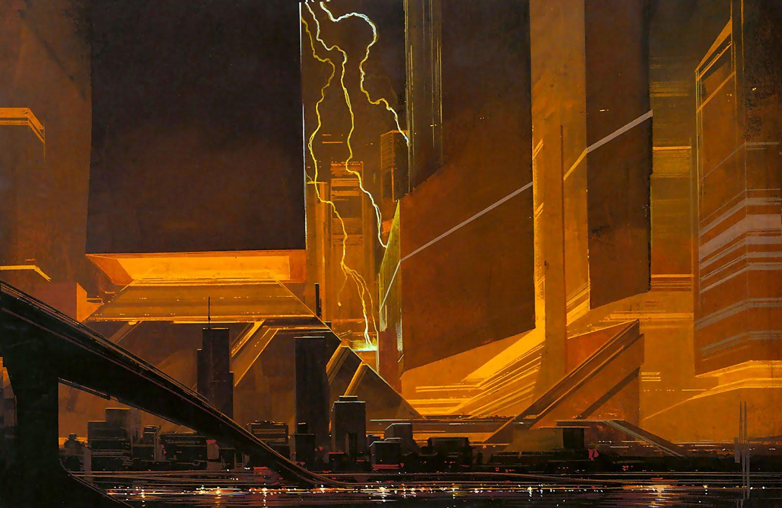 Syd Mead, Concept art per Blade Runner