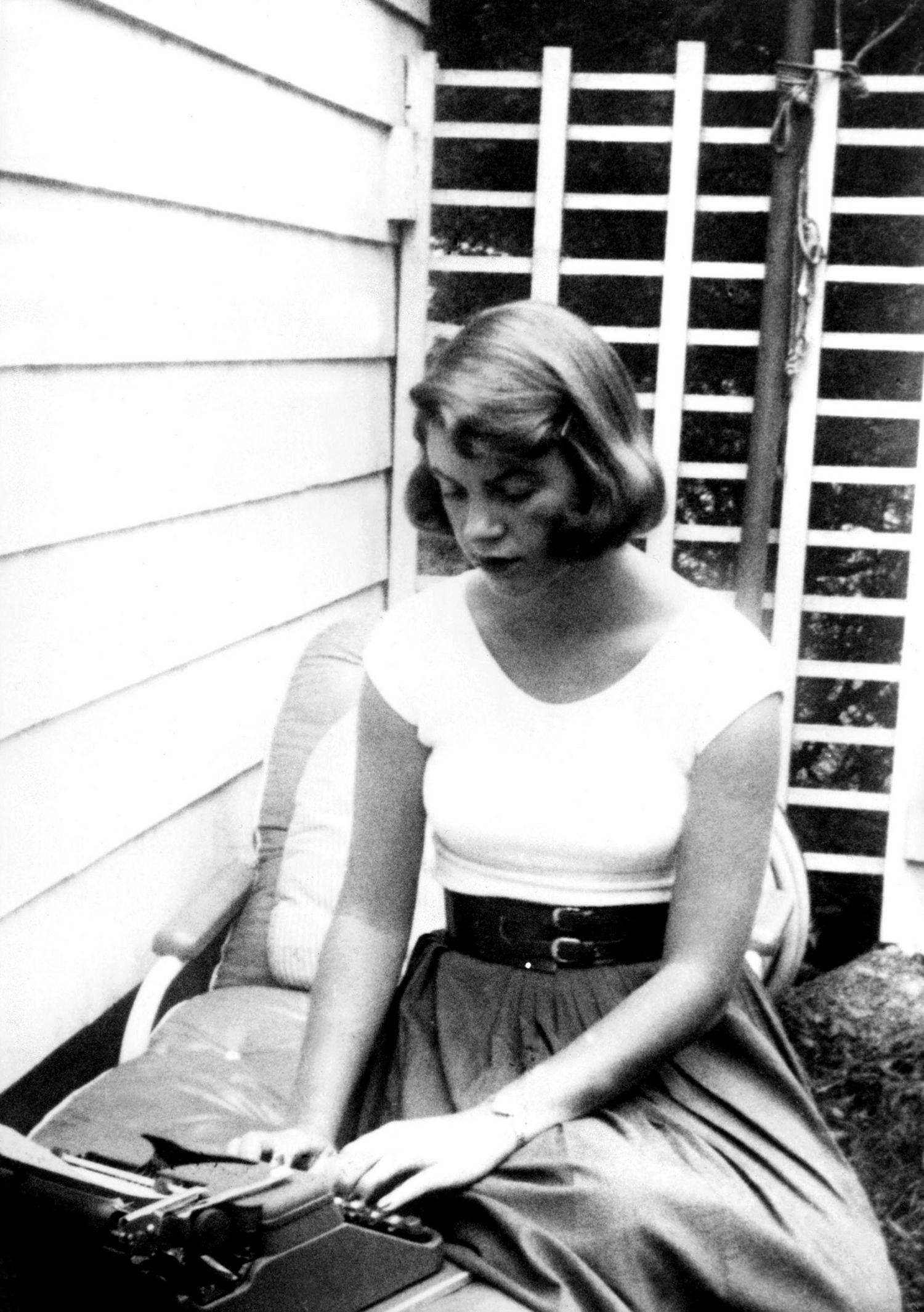 Sylvia Plath a lavoro