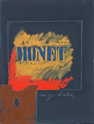 Tano Festa, Monet