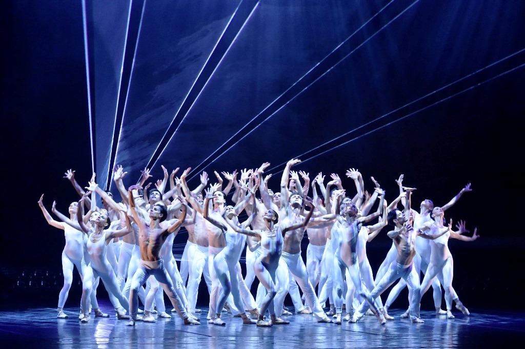 Teatro San Carlo, Napoli. Soirée Roland Petit. Pink Floyd Ballet. Photo F. Squeglia