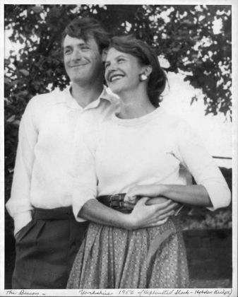 Ted Hughes and Sylvia Plath in Yorkshire, UK, 1956. Ph. Harry Ogden, Courtesy Mortimer Rare Book Collection, Smith College, Northampton, Massachusetts