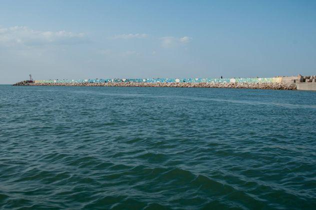 Tellas Ciclico, Molo di Levante del Porto di Pesaro, foto di Katia Boiani