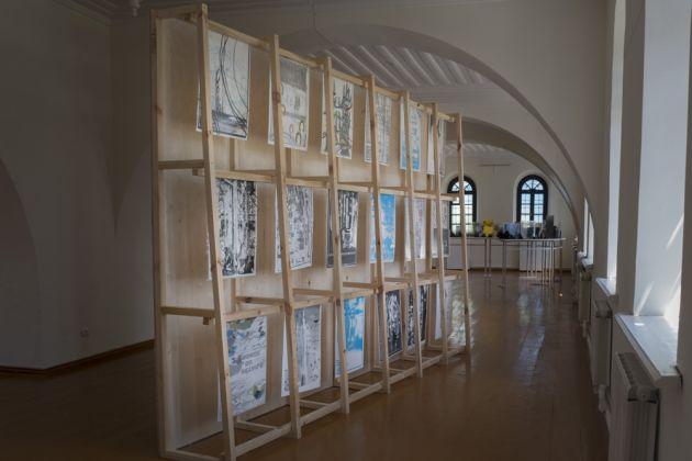 Thibault de Gialluly, On all sides of the mirror, 2017. Serguey Merkurov Museum, Gyumri