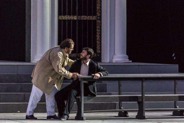 Tosca, Opera di Roma alle Terme di Caracalla, 2017. Photo Yasuko Kageyama