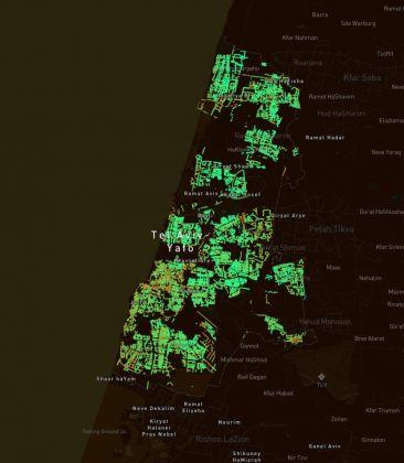 Treepedia. Tel Aviv © MIT Senseable City Lab