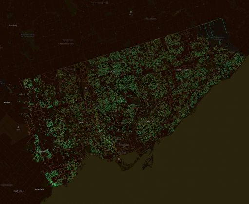 Treepedia. Toronto © MIT Senseable City Lab