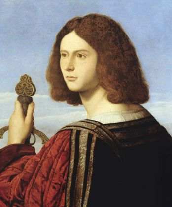 Vincenzo Catena, Ritratto di giovane gentiluomo con spada. Fondazione Accademia Carrara