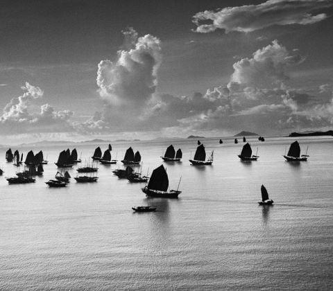 Werner Bischof, Harbour of Kowloon, Hong Kong, 1952. ©Werner Bischof Magnum Photos