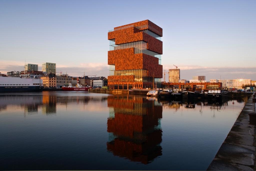 Willem Jan Neutelings, MAS – Museum aan de Stroom, Anversa 2011