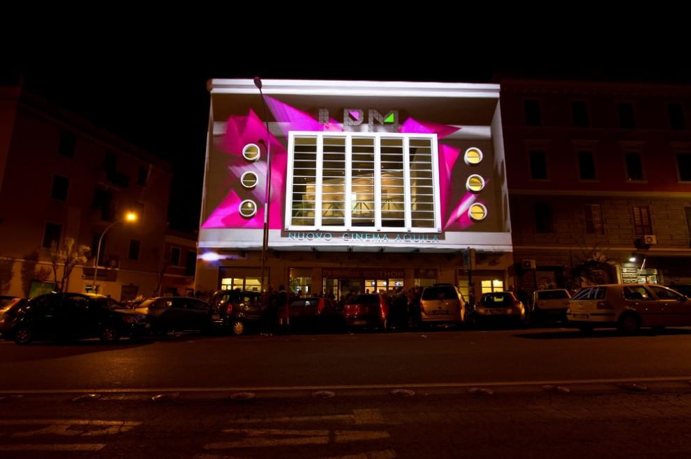 Il cinema Aquila A Roma