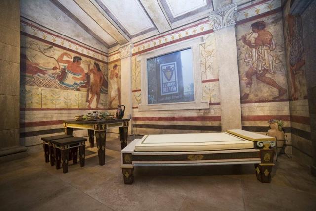 Musem, sala etrusca