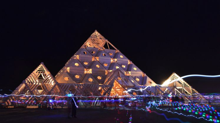 The Temple of Whollyness (Burning Man 2013)