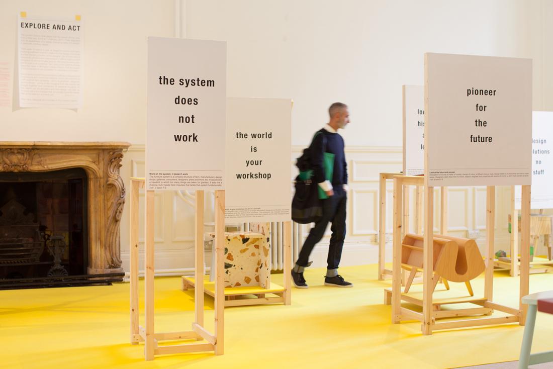 Ineke Hans, The Last Salon: Furniture & the Future, Brompton Design District, London Design Festival 2017 © Amandine Alessandra