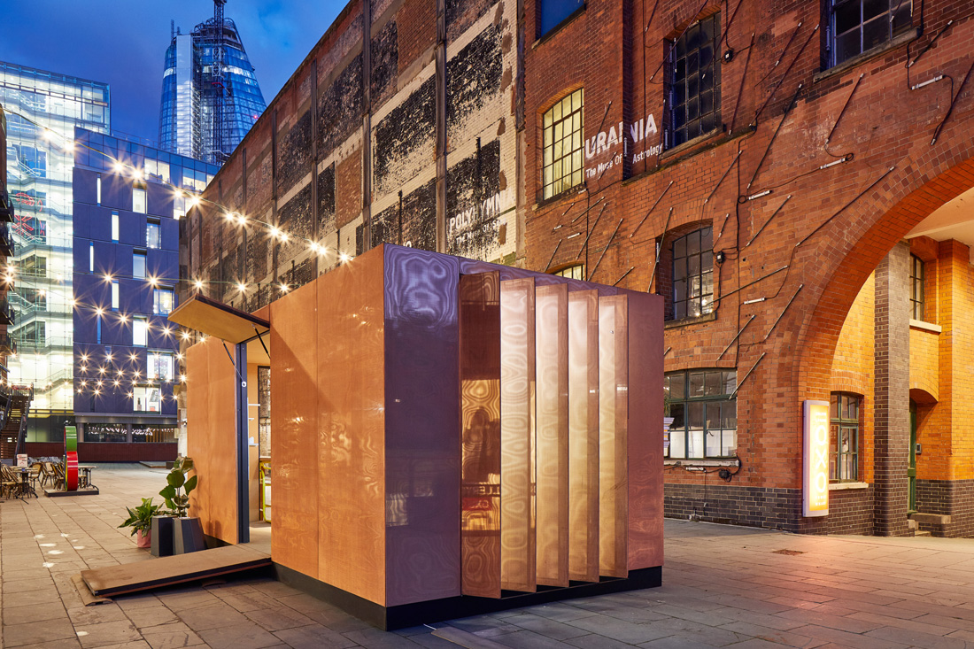 MINI LIVING with Sam Jacob Studio, Urban Cabin, London Design Festival 2017