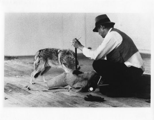 Joseph Beuys, I like America and America likes Me, (1974), Courtesy Edition Block, Berlin © Bildrecht Wien, 2017