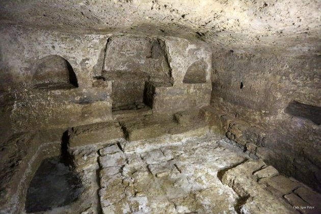 catacombe di san michelearcangelo