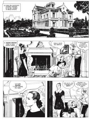 Palazzo Pallavicini Manara Il gioco volume IV opera rappresentativa per la sezione Fumetti credits Milo Manara
