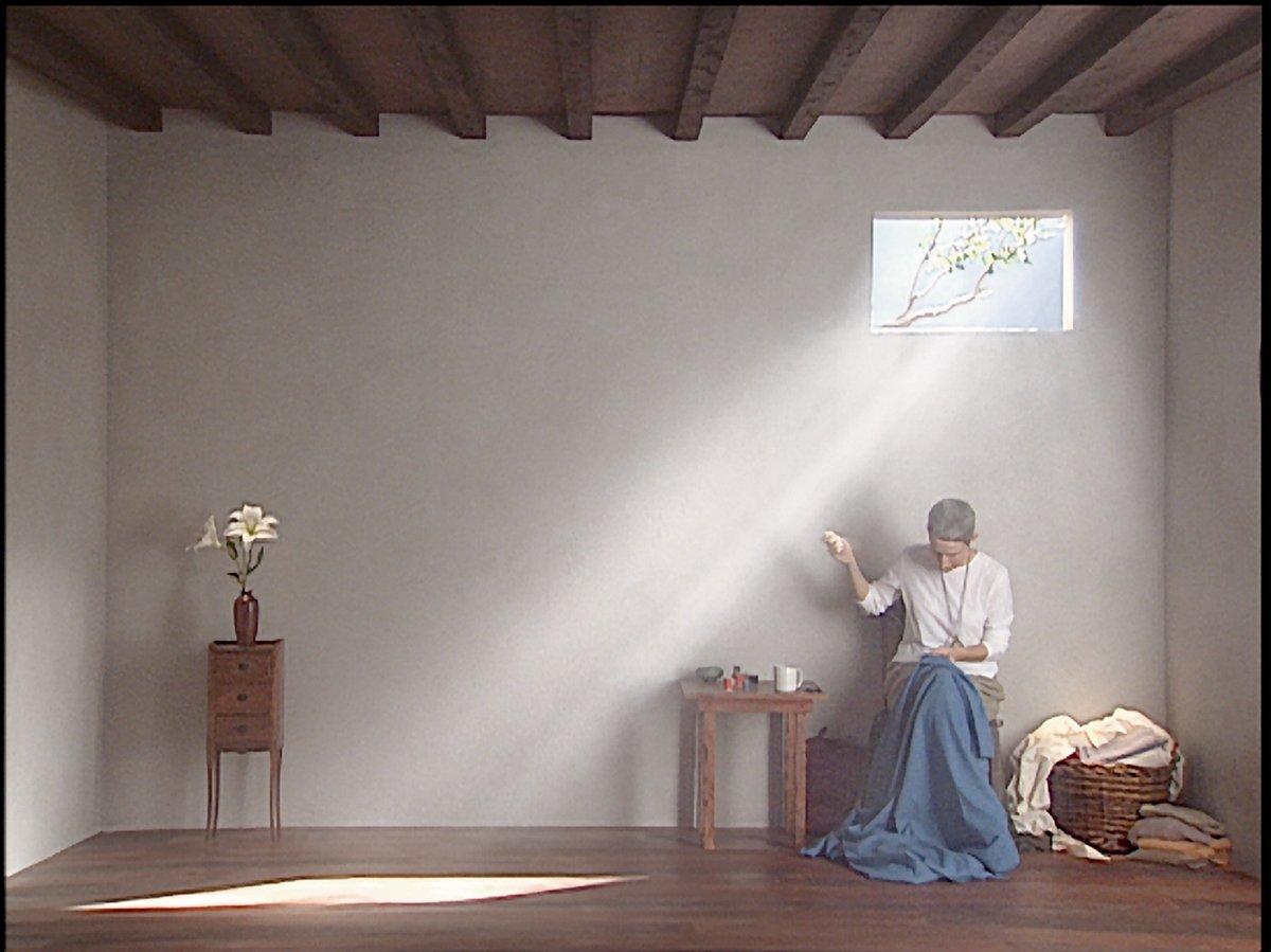 Bill Viola, Catherine's Room, 2001, performer Weba Garretson, courtesy Bill Viola Studio © Bill Viola, photo Kira Perov
