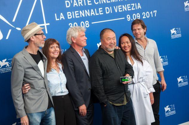 74. Mostra Internazionale d'Arte Cinematografica di Venezia. Ai Weiwei, Human Flow. Photo Irene Fanizza