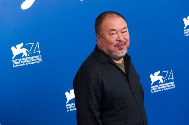 74. Mostra Internazionale d'Arte Cinematografica di Venezia. Ai Weiwei. Photo Irene Fanizza