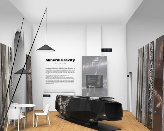 Mineral Gravity di Arik Levy (Design Frontiers, Somerset House)