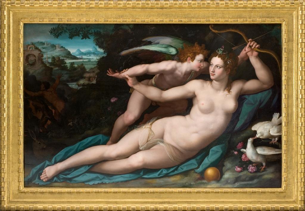 Alessandro Allori, Venere e Amore, 1575-80 ca. Montpellier, Musée Fabre