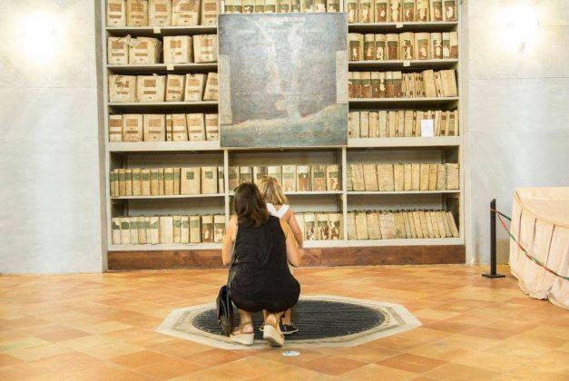 Alessandro Librio. Il Suono dei Fiumi. Palermo a Palermo. Exhibition view at Archivio Storico e Biblioteca Comunale in Casa Professa, Palermo 2017